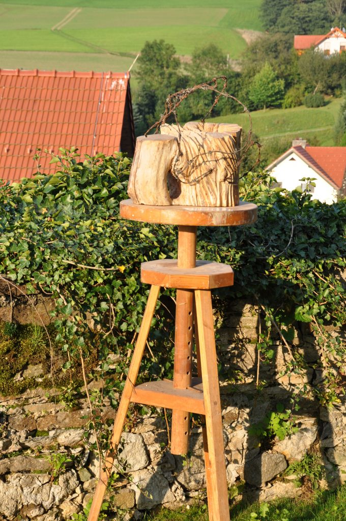 Baummärtyrer/Skulpturen